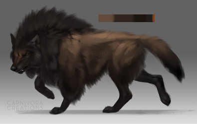 American bison woof: pending by Chickenbusiness