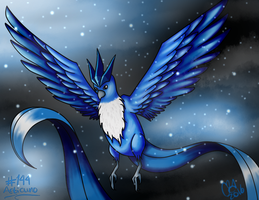 #144- Articuno by UxieSweetie