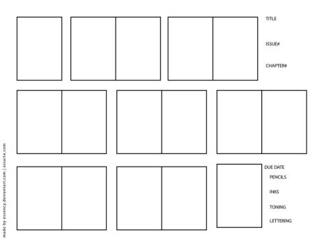 Template  Page Layouts On MangaApps  Deviantart