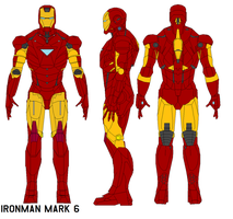 ironman  armor mark 6 by bagera3005