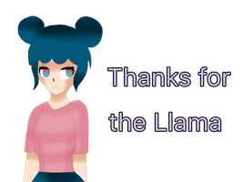 Thanks For the Llama [Kerry] by Maggie-The-Inkling