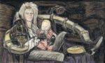 Portrait of Jareth and Toby by gagambo