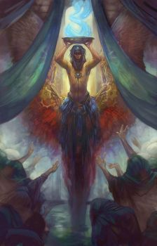 The Oracle by juliedillon