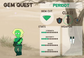 Peridot - Gem Quest by netflixandsapphire