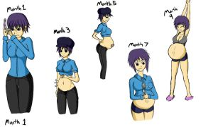 Naoto got Pregnant~ by bambeeboo