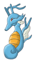 Kingdra~ by Marthnely-chan