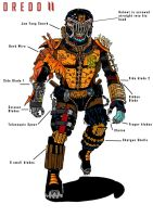 Judge Death (Dredd 2 concept) by Jarol-Tilap