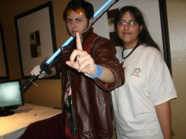 Me standing by Travis Touchdown by Keikoku147