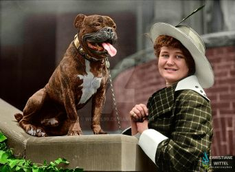 Dog show, 1950 by Wittel99