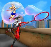 Harley Quinn #2 - Supergirl fun time by Khornath
