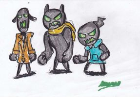 The Bugged Ones Minions by Cartoontriper