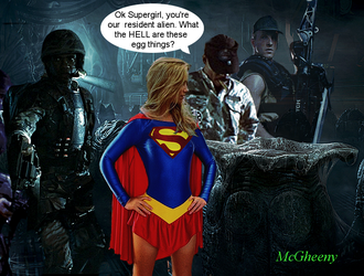 Ok Supergirl what the HELL are these egg things by McGheeny