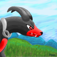 Houndoom by PipeDreamNo20
