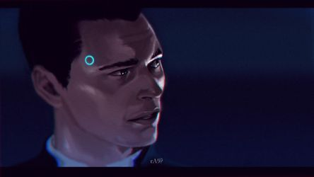 Detroit: Become Human - Connor by thesimplyLexi
