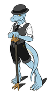 Dapper Kobold by Catalyst-Wyrm
