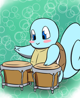 Katarinu (AngrySkitty) B-Day: BB's Bongos by LizDoodlez