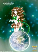 Sailor Earth Commission by Jolin-chan