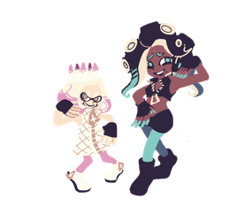 Pearl and Marina by scorpipio
