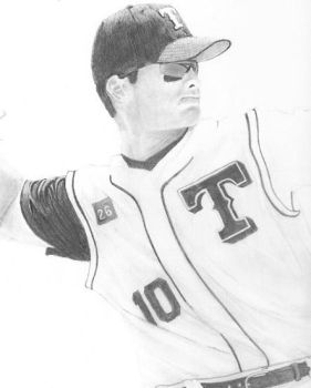 WIP Michael Young by DFitchPencilArt