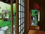 Tea House - Colour by Crysums