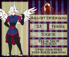 CD: Mallory Desdemona by qnerdi