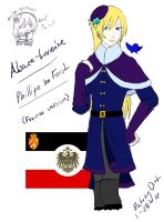 APH OC: Alsace-Lorraine by EatingDirt