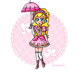 Loli Princess Peach Remake by ninpeachlover