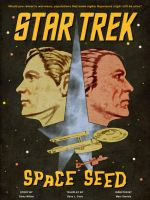 Space Seed vintage poster by thefirstfleet