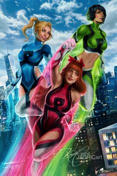 The Powerpuff Girls by jasric