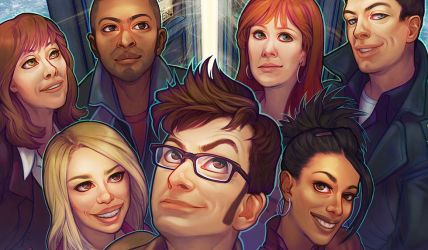 team tardis closeup by questionstar