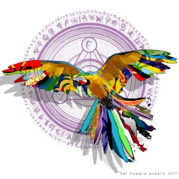 Decorative Poly Parrot by AVAdesign