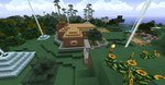 Minecraft House with new Texture Pack by SleekHusky