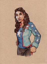 America Chavez by artildawn