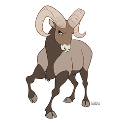 Bighorn Sheep by faithandfreedom