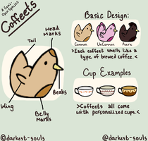 Species Guide: Coffeets -  Semi Open Species by Pentaagon