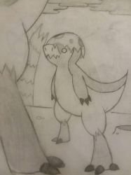 Baby dino by jellykens