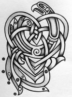Celtic Motherhood knot with Kells style knot by Tattoo-Design