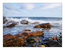 Rocks and Waves by runnerboy49