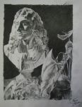 Moliere under the pencil - by Elvazur