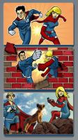 Superhero E-mail Headers by mike-loscalzo