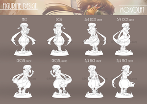 Octogone Figurine(line)2dev by Mokolat-Illustr