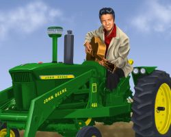 Elvis Deere by dragynsart