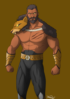 Heracles By Mangledangle by WARBOUND-President