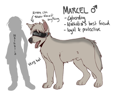 Marcel Reference by Griwi