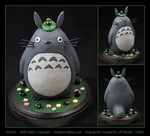 Commission : Totoro by emilySculpts