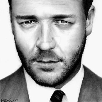Russell Crowe - POST copy by Doctor-Pencil