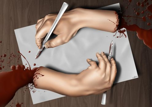 Cutting Hands by reality-must-die