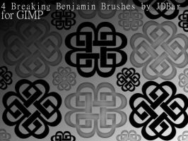 4 Breaking Benjamin Brushes by JDBar