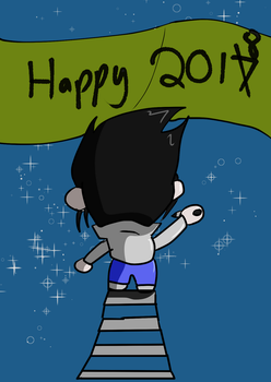 Happy chibi New Year by fighterxaos