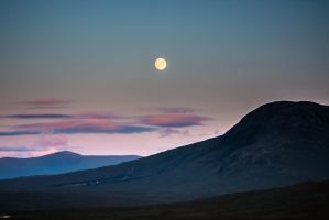 Glencoe Moon by Sagereid